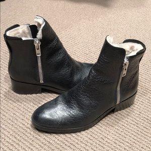 3.1 Phillip Lim black ankle boots